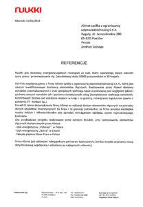 Referencje -Ruukki