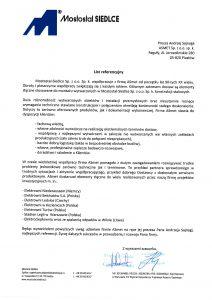 Referencje - Polimex Mostostal