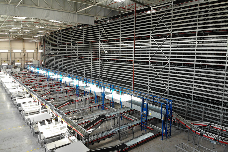 Construction of automatic racks