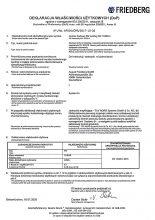 Deklaracja właściwości użytkowych zestawów śrubowych HV
