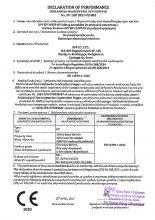Deklaracja właściwości użytkowych zestawów śrubowych HV - KPF